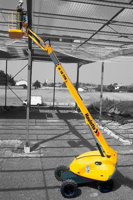 Aerial Work platform: Telescopic Platforms- haulette-ha16tpx