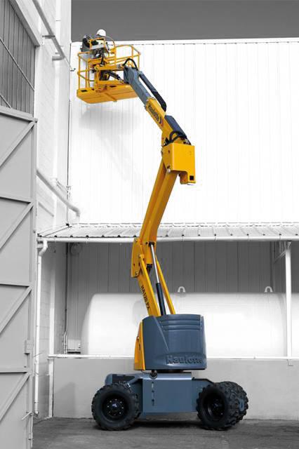 Aerial Work Platforms: Articulated Platforms- haulotte-ha120px