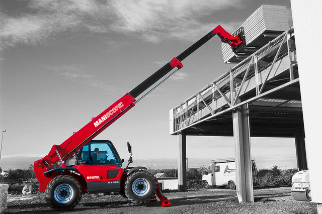An example of Manitou Telehandler MT-X-1235 ST