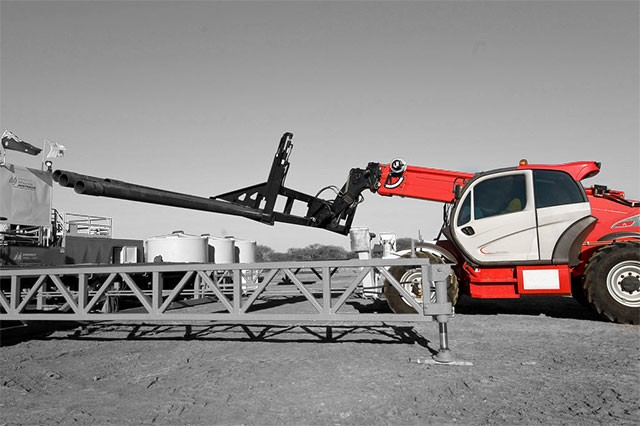 An example of Manitou Telehandlers MT-1435