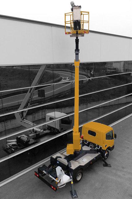 Palfinger p170 yellow